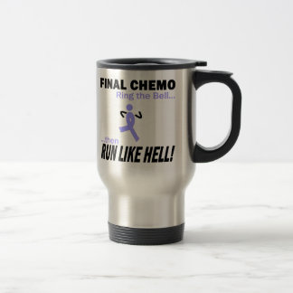 Le chimio final courent beaucoup - ruban de mug de voyage