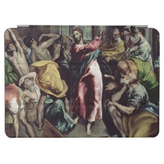 Le Christ conduisant les commerçants par le temple Protection iPad Air