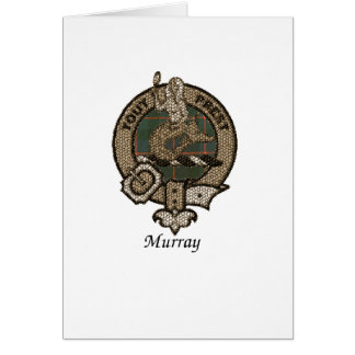Le clan de Murray Crest Carte De Vœux