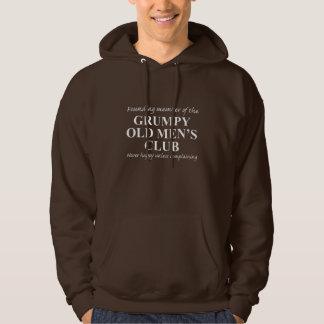 Le club grincheux de vieux hommes veste à capuche