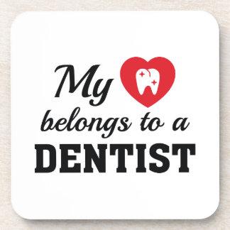 Le coeur appartient dentiste sous-bocks