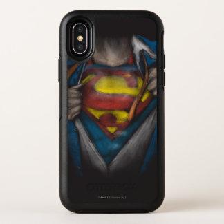 Le coffre de Superman   indiquent le croquis