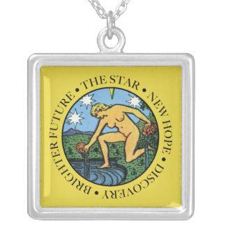 Le collier d'étoile avec le texte