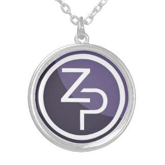 Le collier rond de zPIV de PIVX, argentent plaqué