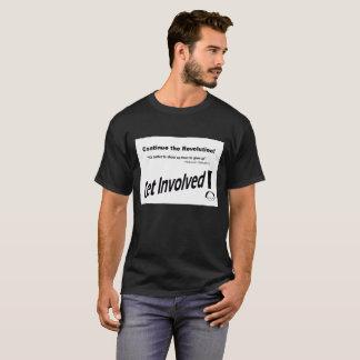 Le Colorado Bernie obtiennent le T-shirt impliqué