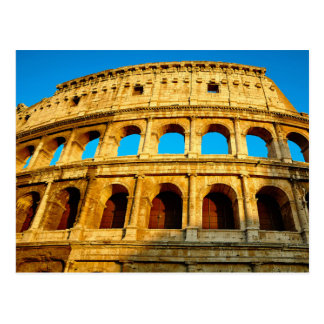 Le Colosseum à Rome, Italie Carte Postale