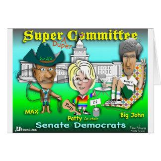 Le Comité superbe de Duper Carte