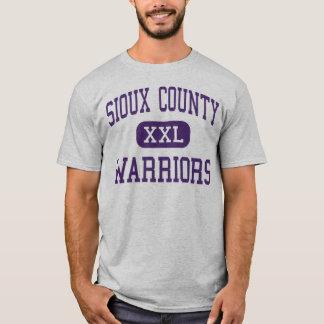 Le comté de Sioux - guerriers - haut - Harrison