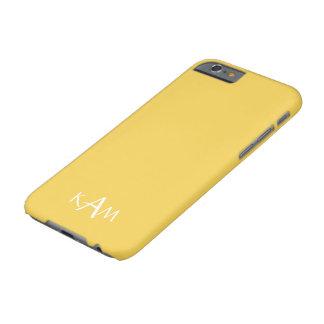 Le concepteur 2017 du printemps colore le jaune de coque iPhone 6 barely there