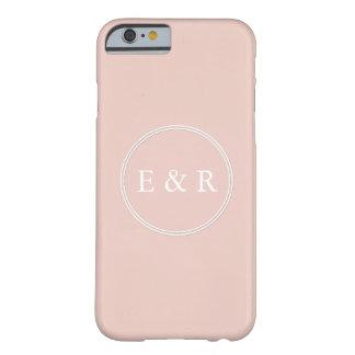 Le concepteur 2017 du printemps colore pâle - coque barely there iPhone 6