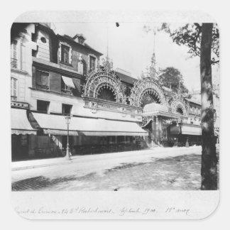 Le concert de Trianon à Paris Sticker Carré