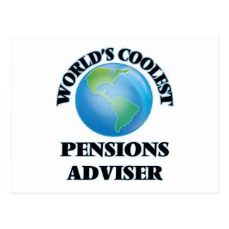 Le conseiller des pensions le plus frais du monde cartes postales