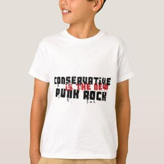 Le conservateur est le nouveau punk rock t-shirt
