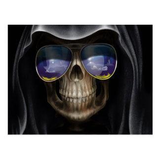 Le cool a masqué le crâne cartes postales