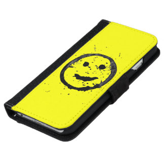 Le cool a souillé le portefeuille souriant heureux