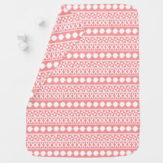 Le corail de bébé barre la couverture couverture pour bébé