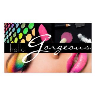 Le Cosmetologist de maquilleur cloue le salon de Carte De Visite Standard