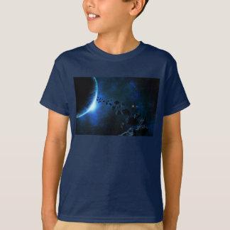 Le cosmos badine le T-shirt de l'espace