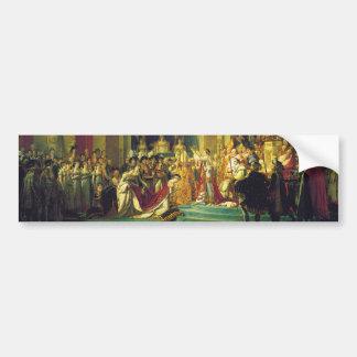 Le couronnement du napoléon par Jacques Louis Autocollant De Voiture