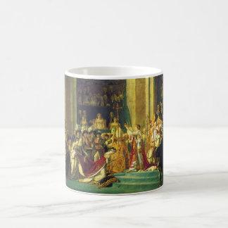 Le couronnement du napoléon par Jacques Louis Mug Blanc