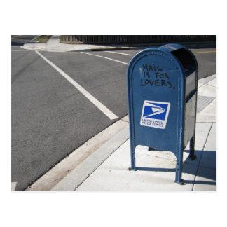 Le courrier est pour des amants cartes postales