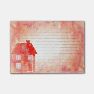 Le Courrier-it® de Chambre de rouge note 4 x 3