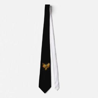 Le cravate des hommes flambants de Phoenix
