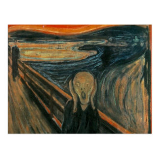 Le cri perçant - Edvard Munch Carte Postale