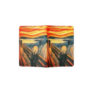 Le cri perçant par Edvard Munch Protège-passeport