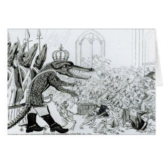 Le crocodile corse carte