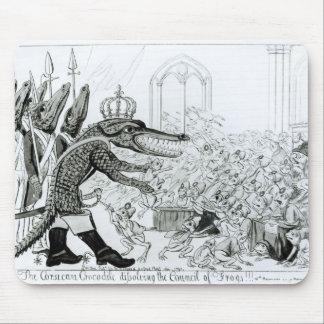 Le crocodile corse tapis de souris