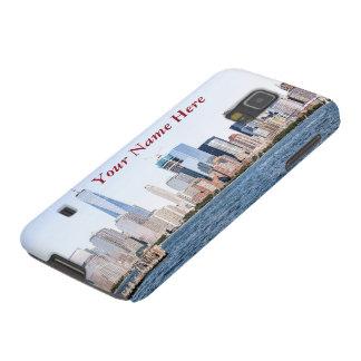 Le croquis Samsung de couleur de Lower Manhattan Protections Galaxy S5