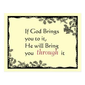 Le cru a inspiré la carte postale de foi