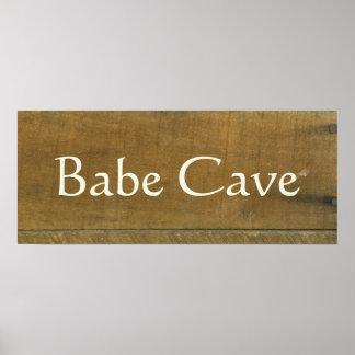 Le cru de caverne de bave a inspiré le vieux signe