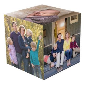 Le cube en photo créent vos propres