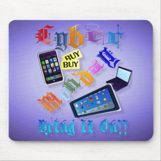 Le Cyber Lundi-L'apportent dessus ! (2) Mousepad Tapis De Souris