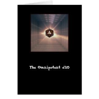 Le d20 omnipotent - carte