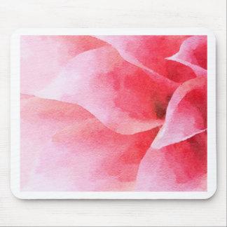 Le dahlia rose tapis de souris