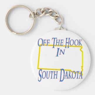 Le Dakota du Sud - outre du crochet Porte-clé Rond