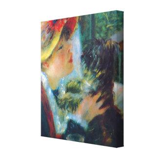 Le déjeuner des beaux-arts de Renoir de partie de Toiles