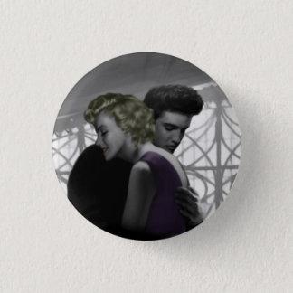 Le départ 2 de l'amour badge rond 2,50 cm