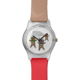 Le do-it-yourself a personnalisé la montre de