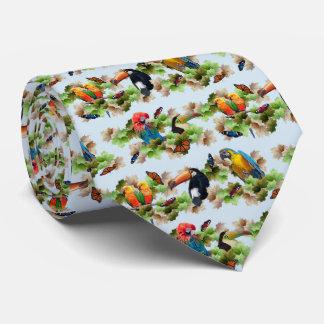 Le double tropical de cravate a dégrossi la copie