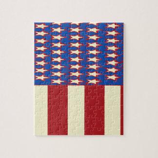 le drapeau 2017 célèbrent 4 juillet puzzle