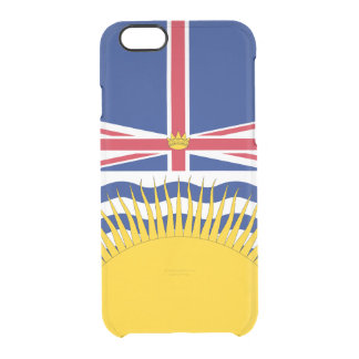 Le drapeau de la Colombie-Britannique dégagent le Coque iPhone 6/6S