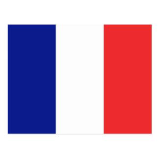 Le drapeau de la France ou de Tricolore Carte Postale
