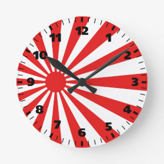 drapeau du japon horloges drapeau du japon pendules murales. Black Bedroom Furniture Sets. Home Design Ideas
