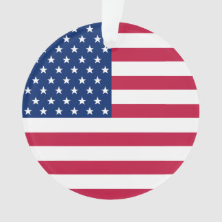 Le drapeau des Etats-Unis tient le premier rôle