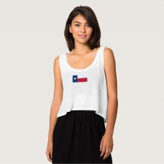 Le drapeau des femmes du débardeur du Texas