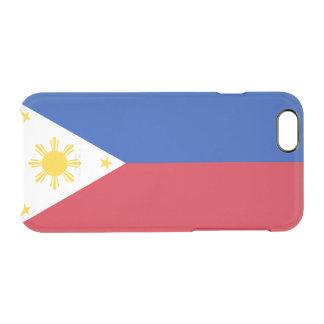Le drapeau des Philippines dégagent le coque